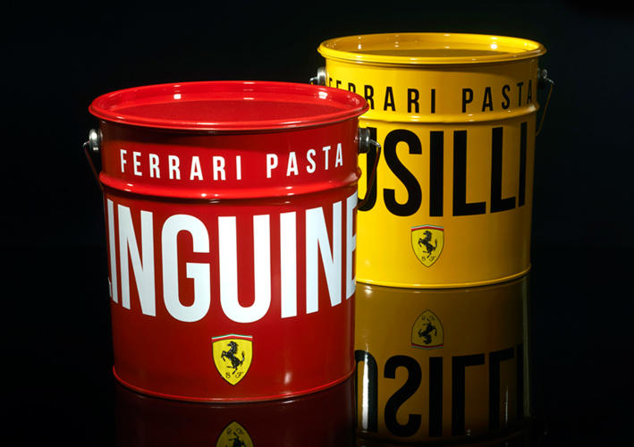 ferrari packaging design