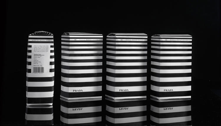 prada packaging design