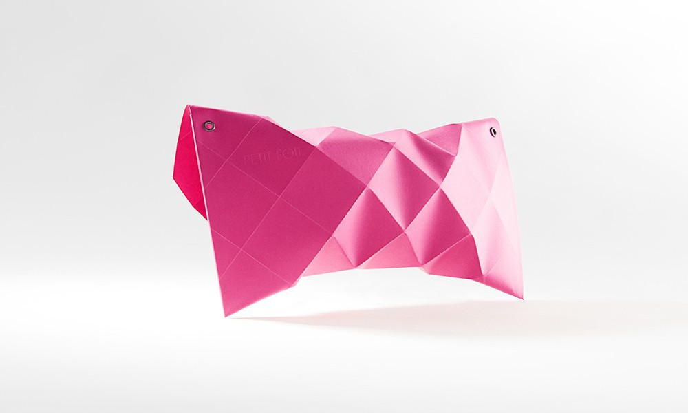 petit fou paper folding packaging design 1
