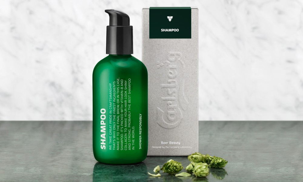 carlsberg schampoo packaging design 2