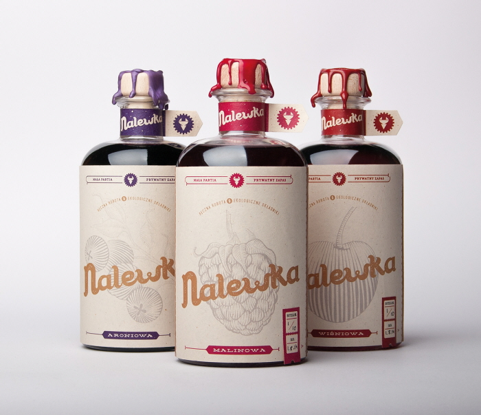 Nalewka packaging design 1