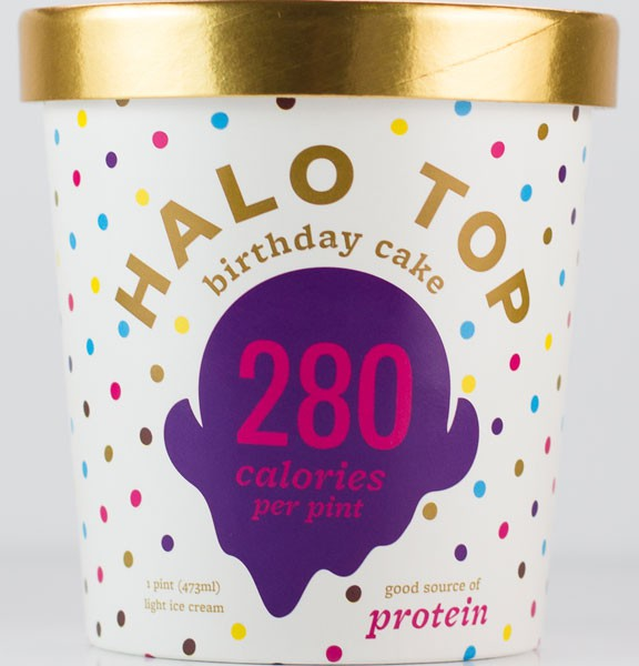 halo top icecream packaging design 2