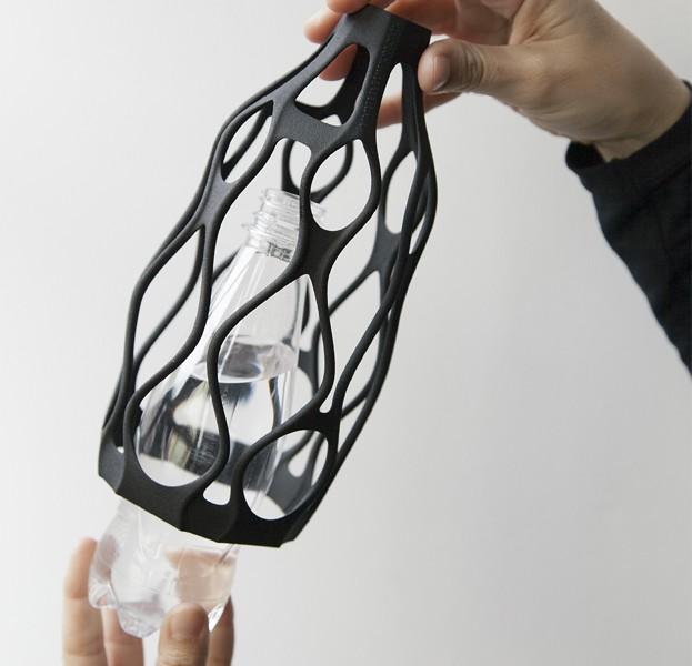 3D printing reused plastic packaging wase 5