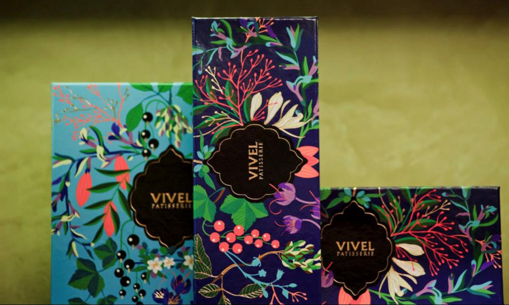 Vivel Pastisserie Packaging Design