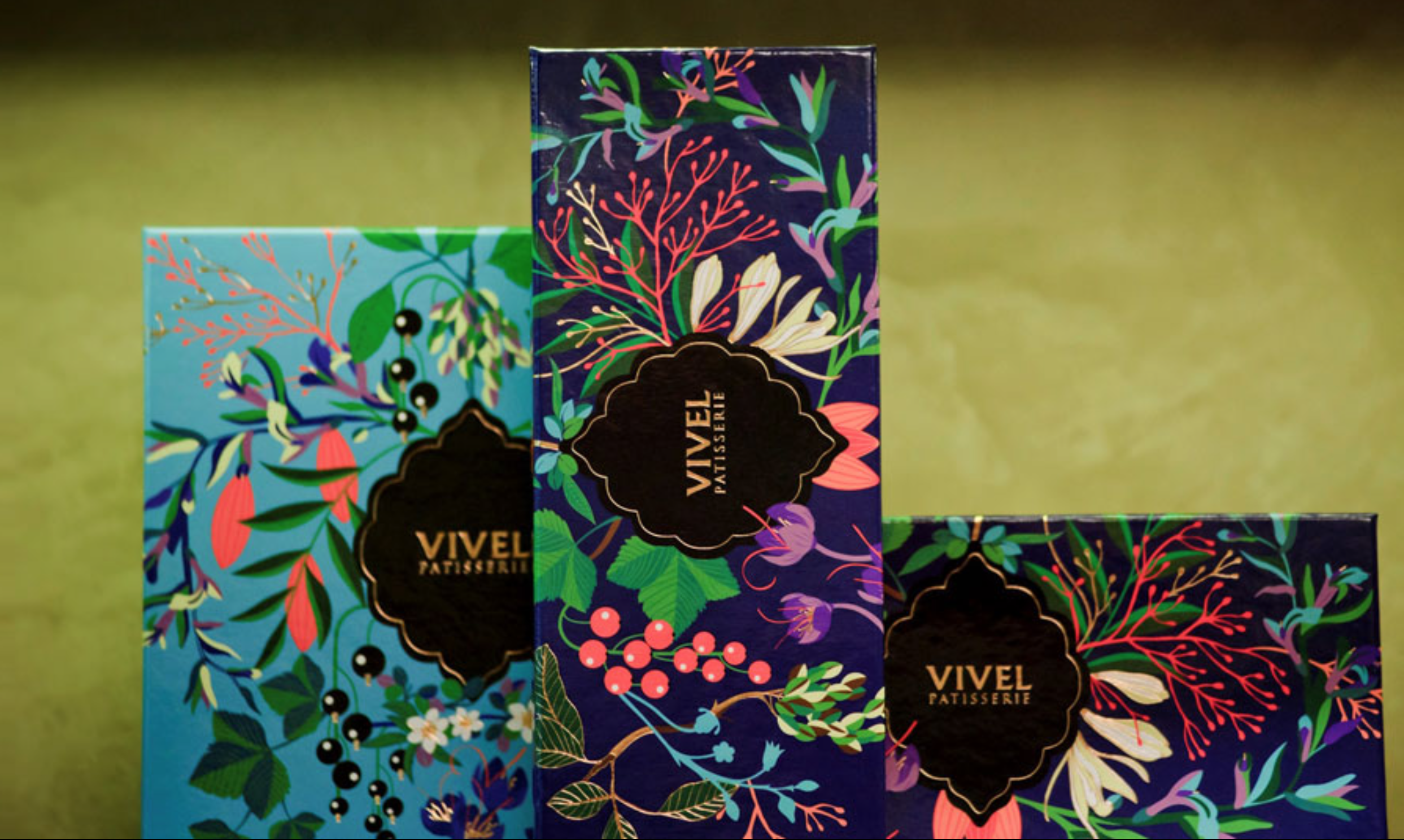 Vivel Pastisserie Packaging Design