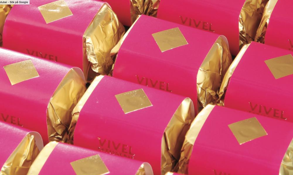 Vivel pastisserie dubai packaging design 2