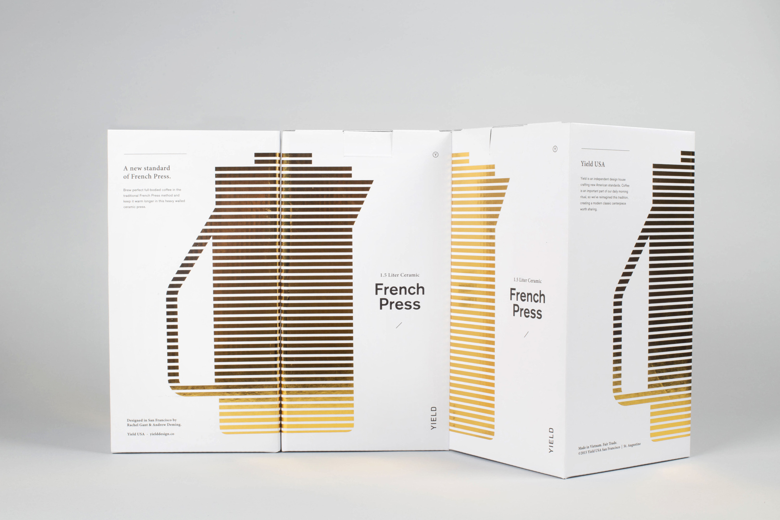 french press packaging design trends 2016