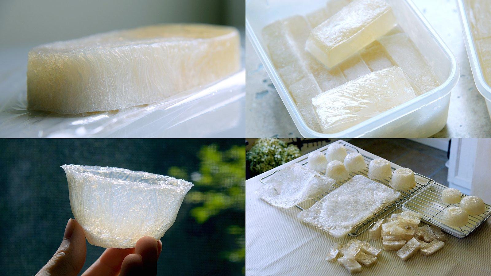 new seaweed based material packaging design 1