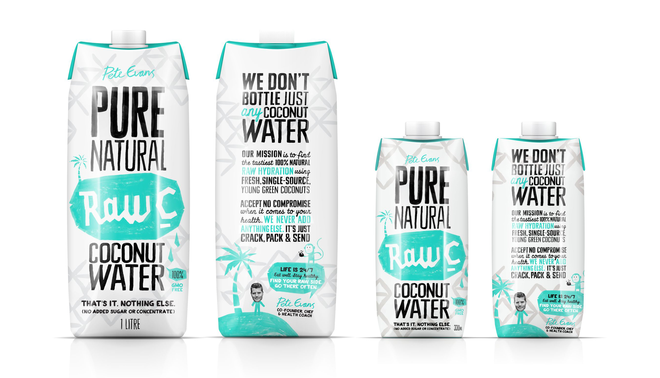 raw c coconut water packaging design tetra prisma 4