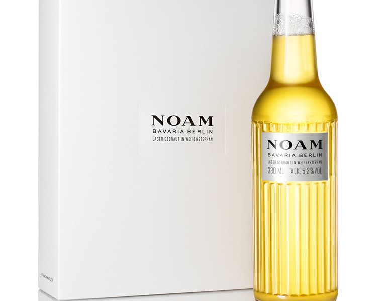 Noam Beer by acne packaging design 2