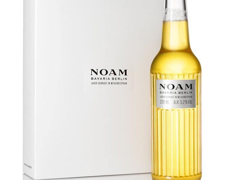 Noam Beer by acne packaging design 2