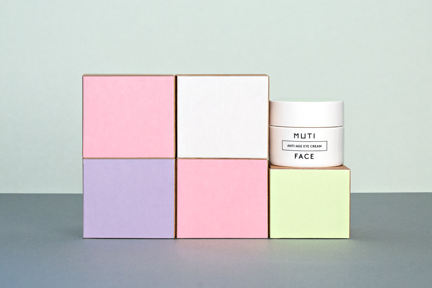 muti boxes facial packaging design 1