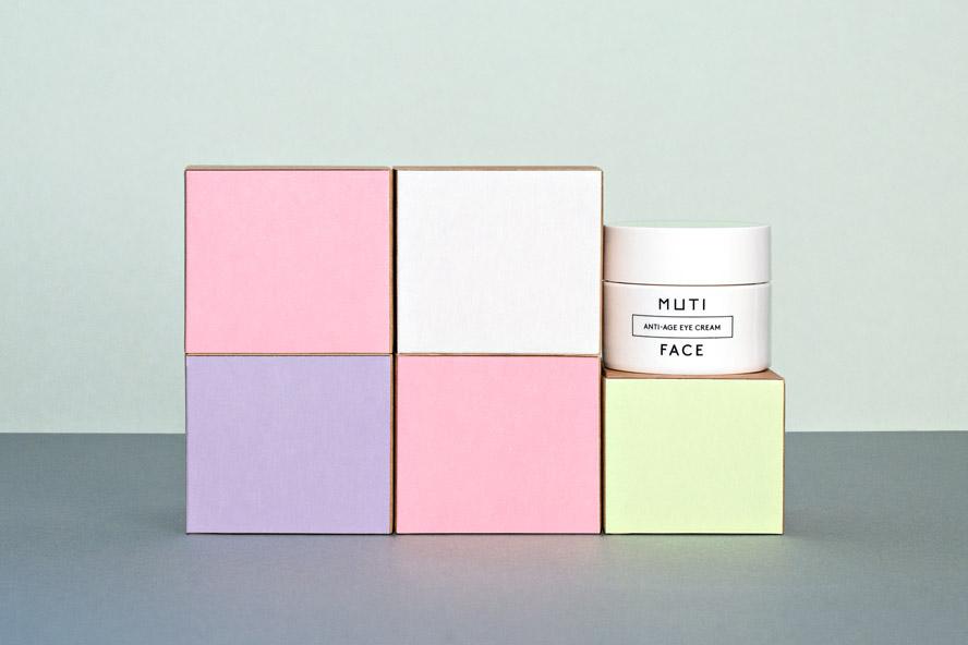 muti boxes facial packaging design 1
