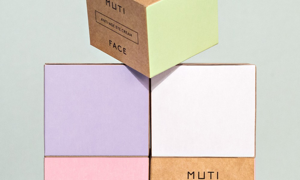 muti boxes facial packaging design 2