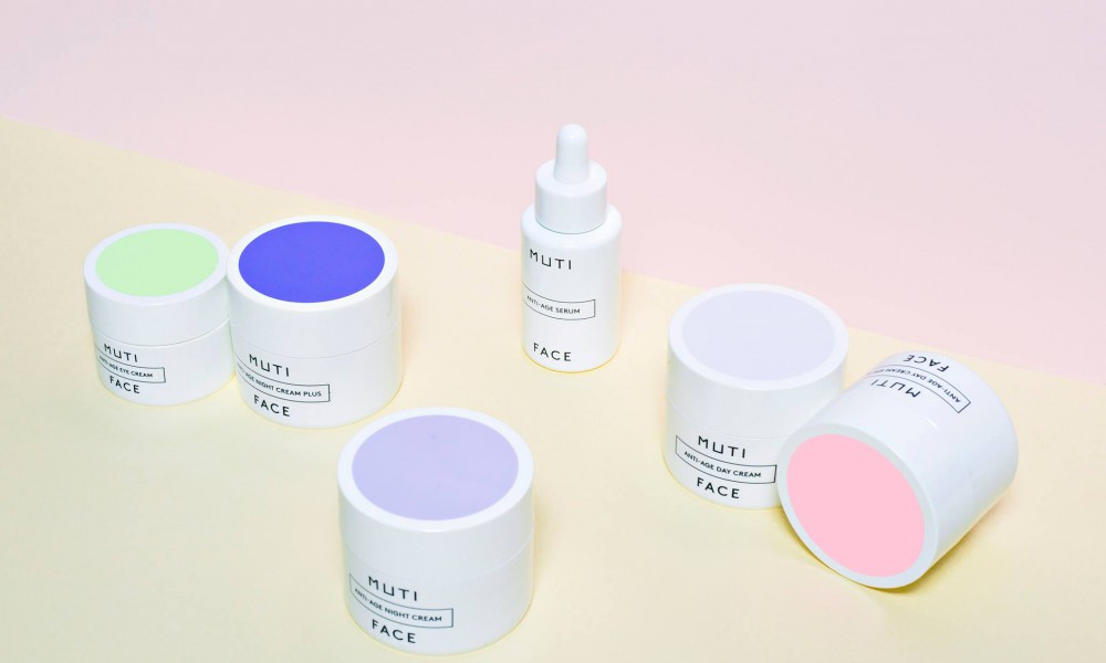 muti boxes facial packaging design 3