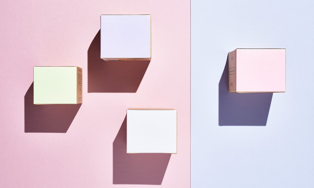 muti boxes facial packaging design 5