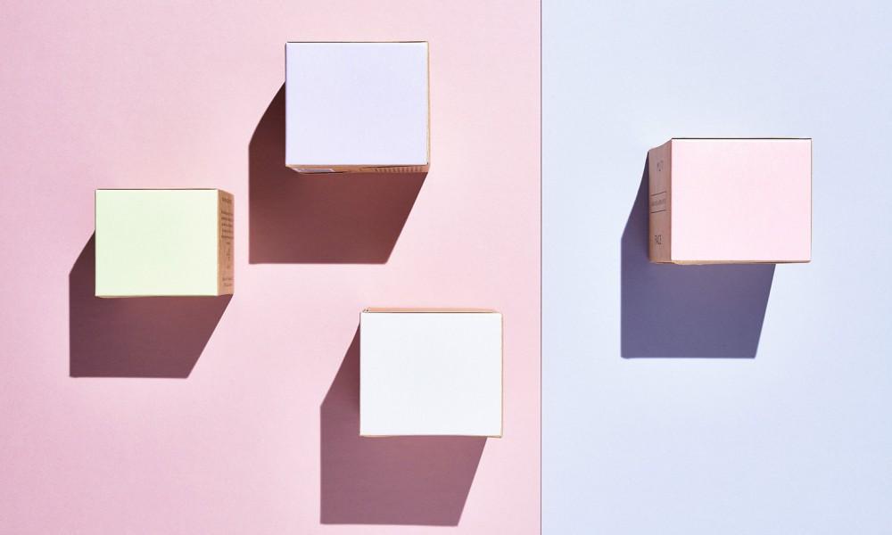muti boxes facial packaging design 5