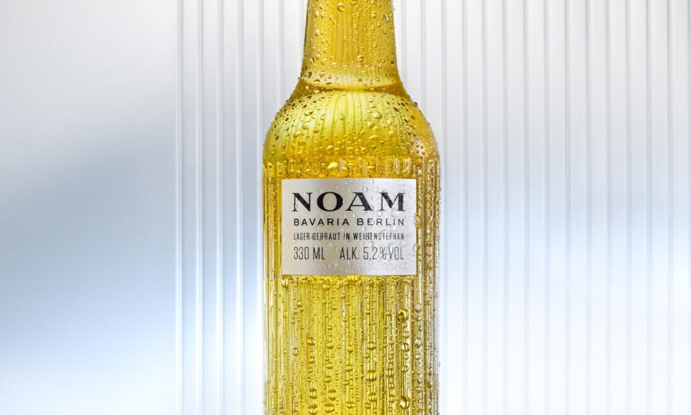noam bottle beer packaging design by acne 1