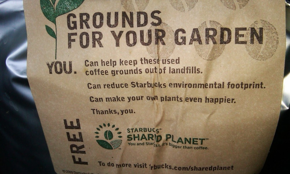 starbucks-grounds circular economy packaging