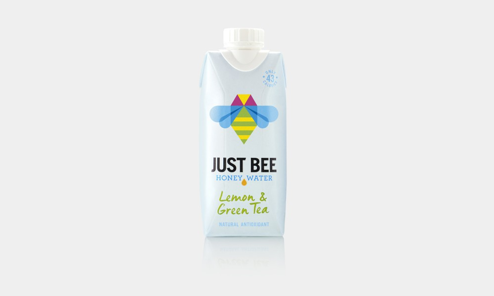 just bee packaging design tetra pak honey water 3