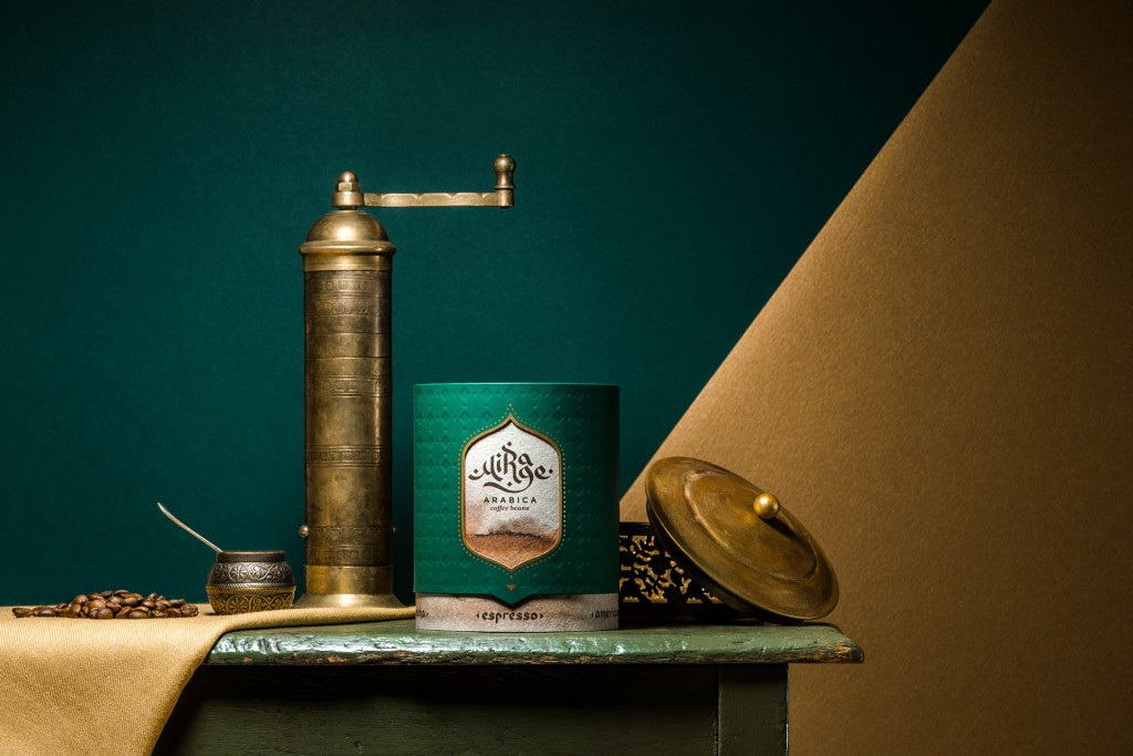 Mirage arabica coffee packaging concept 8