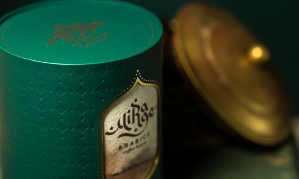 Mirage arabica coffee packaging concept 9