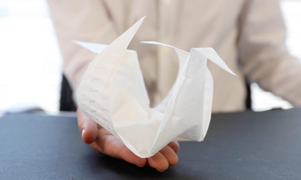 MIT inflated origami packaging innovation