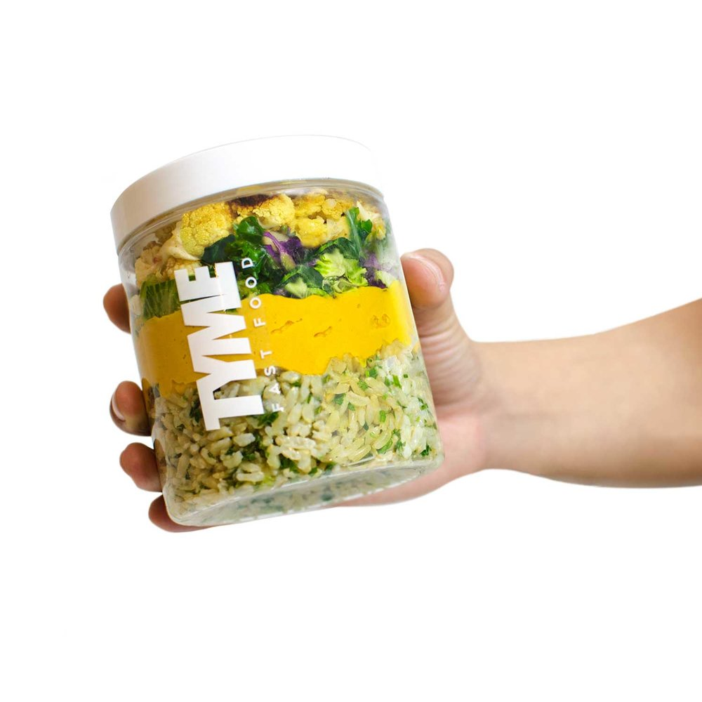Tyme reusable jar packaging design 2