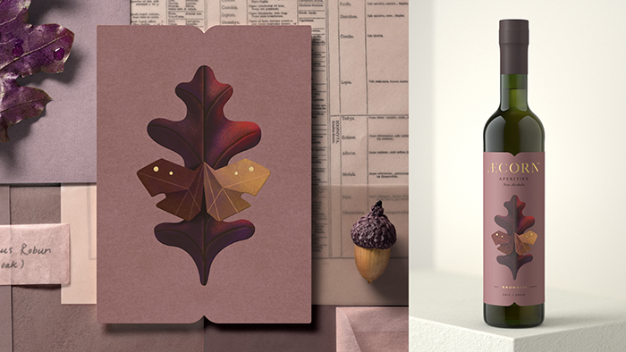 Aecorn packaging design non alcohol 6